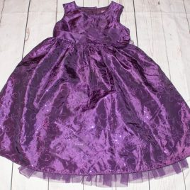 Purple sparkly dress 2-3 Years