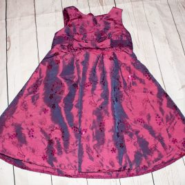 Burgundy sparkly dress 18-24 months