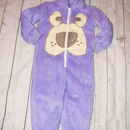 Purple bear onesie 2-3 Years
