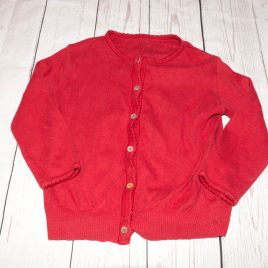Noa Noa red cardigan 2-3 years