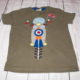Mini Boden scooter t-shirt 3-4 years