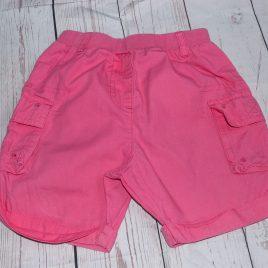 Pink shorts 12-18 months