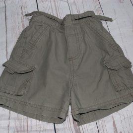 Grey shorts 9-12 months
