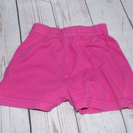 Pink shorts 9-12 months