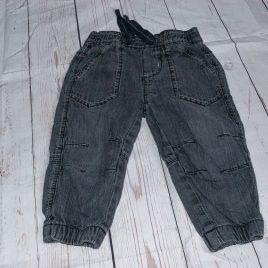 Black jeans 9-12 months