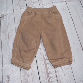 Next brown jogging trousers 9-12 months