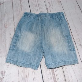 Next denim style shorts 9-12 months