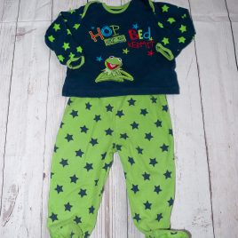 Kermit The Frog pyjamas 9-12 months