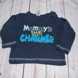 'Mummy's little charmer' top 3-6 months