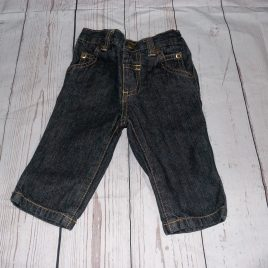 Black denim jeans 3-6 months