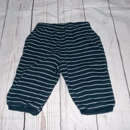 Navy stripy trousers 3-6 months