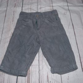 Pumpkin Patch grey cord trousers3-6 months
