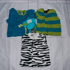 x3 Next sleepsuits 3-6 months