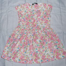 Pink flowers dress 18-24 months