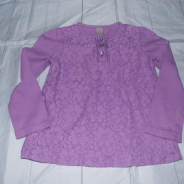 Lilac lace top 18-24 months