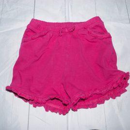 Pink shorts 18-24 months