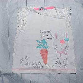 Bunny t-shirt 18-24 months