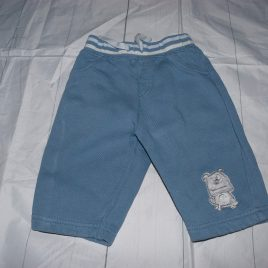 Next blue jogging trousers 3-6 months