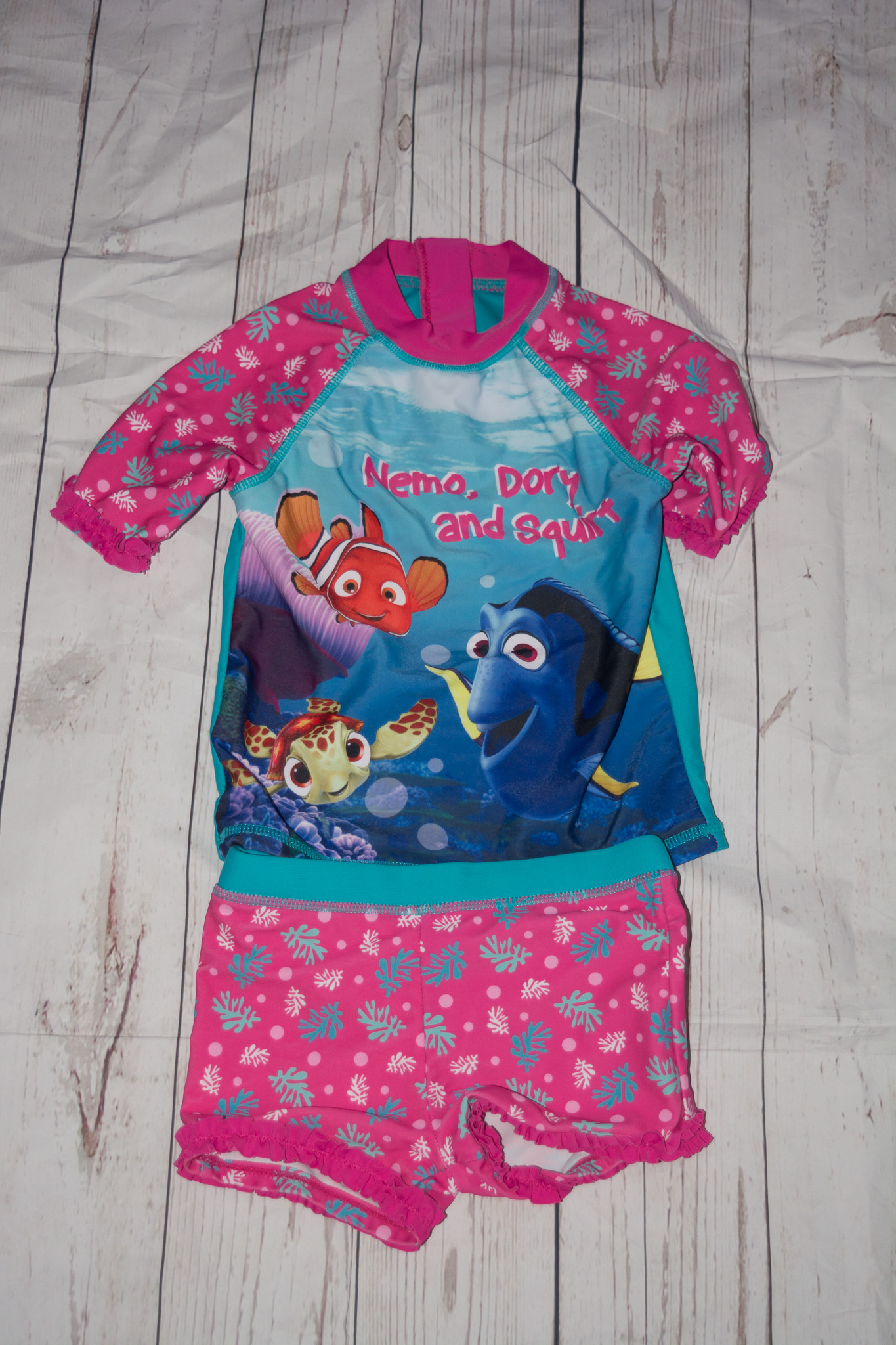 Disney Finding Dory Swimming Costume Tankini 18 24 Months
