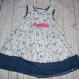 Navy bunny dress 18-24 months
