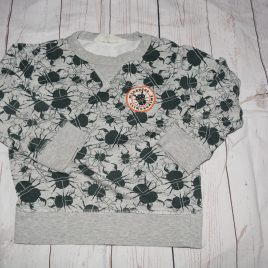 Grey bugs jumper 3-4 years