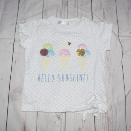 """Hello sunshine"" t-shirt 18-24 months"