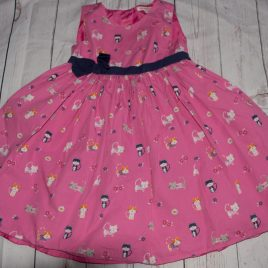 Blue Zoo Debenhams pink cat dress 3-4 years