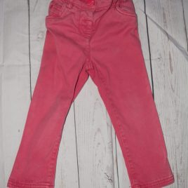 Next coral trousers 18-24 months