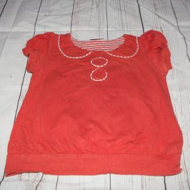 Next orange t-shirt 18-24 months