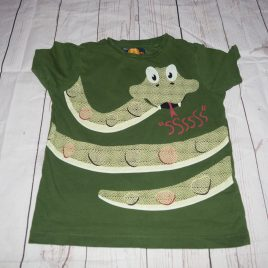 Green snake t-shirt 2-3 years
