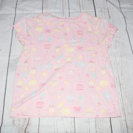 Pink tea party t-shirt 18-24 months