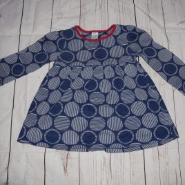 Navy circle tunic top 18-24 months
