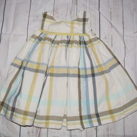 Next blue & green dress 18-24 months