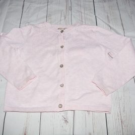 Next pink cardigan 3-4 years