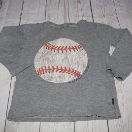 Grey baseball top 2-3 years