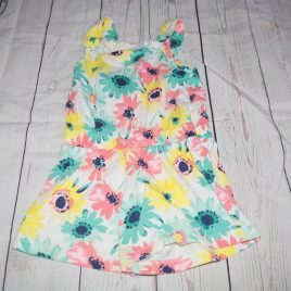 Flowers playsuit 18-24 months