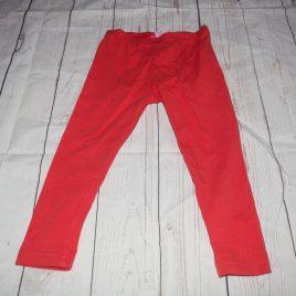 Red leggings 3-4 years