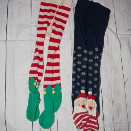 x2 Next Christmas tights 3-4 years
