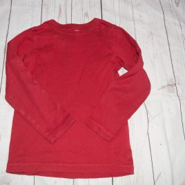 H&M red top 4-6 years