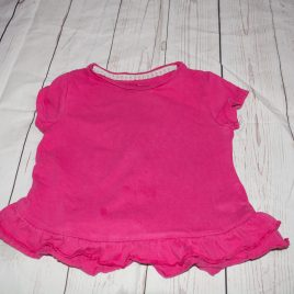Dark pink t-shirt 18-24 months