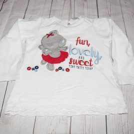 Tatty Teddy top 18-24 months