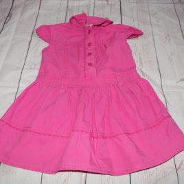 Dark pink dress 18-24 months