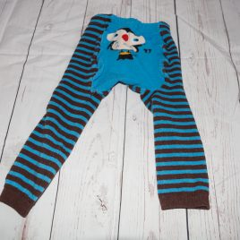 Blue owl footless tights 18-24 months