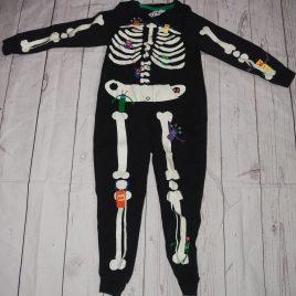 M&S skeleton onesie 4-5 years