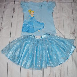 Disney Cinderella top & skirt outfit  3 years