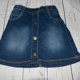 Denim style skirt 3-4 years
