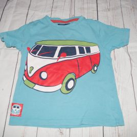 Blue camper van t-shirt 2-3 years