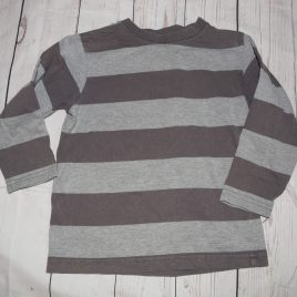 Grey stripy top 3 years