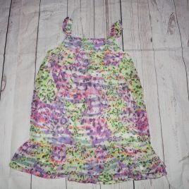 Green & purple dress 3 years