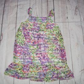 Green & purple dress 3 years